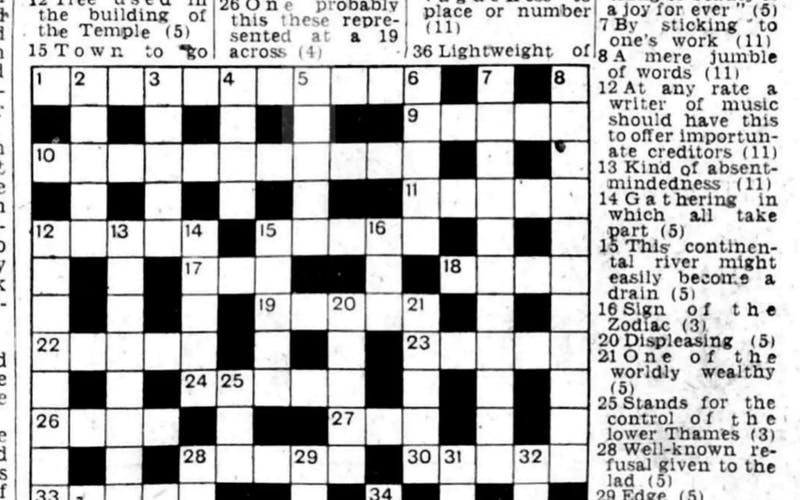 Crossword Solver Enter Crossword Clues Find Answers Word Tips